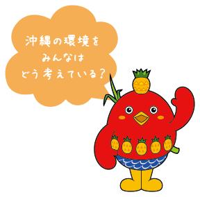 沖縄の環境をみんなはどう考えてる?